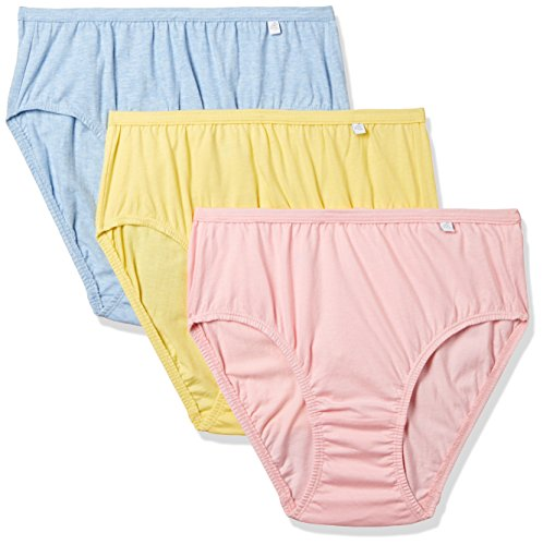Jockey Women's Hipster (Pack of 3) (1406_Light Assorted_XL)