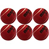 HRS Maruti Gold Heavy Weight Cricket Tennis Ball - Maroon