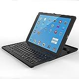 Procase iPad Pro 12.9 2015 Tastatur Hülle, Tablet Wireless Kabellos Tastatur (QWERTY) Hülle, 360-Grad-Drehung, Ultra-Slim, Stand Schutzhülle für Apple iPad Pro 12.9