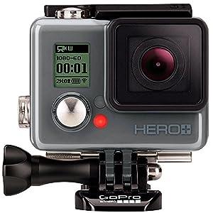 "'GoPro Hero + LCD Helmkamera 8Mpix Touchscreen WiFi Bluetooth (Verpackung E-Commerce ""Auspacken ohne sich aufzuregen)"