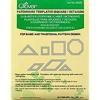 Clover - Plantillas para patchwork, diseño de cuadrados y octógonos