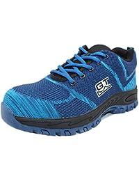 Uirend Zapatos Calzado de Trabajo Industria Construcción Hombre - Seguridad Protección Botas Ligero Antideslizante…