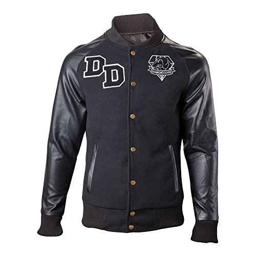 Price comparison product image Metal Gear Solid V 1984 Big Boss Varsity Jacket - Large (Electronic Games)