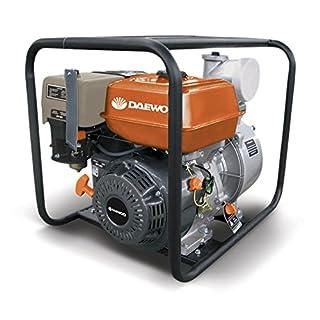 DAEWOO gae100–motobomba Benzin, 4.5KW, Durchflussmenge Max 69M³/h, sauberes Wasser