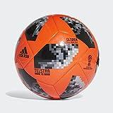 adidas World Cup Glide Balón, Hombre, Rojsol/Negro/Plamet, 3
