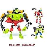 Ingenious Toys SIN Marca - 2 Set de Cajas - superhéroes Casco &...