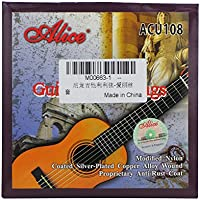 Alice acu108Guitalele String Set (.026-.041) -Nylon Juego de cuerdas para 6cuerdas Guitalele