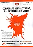 AJ Publications Corporate Restructuring, Valuation & Insolvency for CS Professional Old Syllabus June 2019