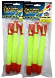 Stomp Rockets are possibly the most fun all the family can have in the garden, beach, park or any outdoor space you choose. The Super Stomp version can be used to send the rockets flying up to a staggering 400 feet high. These replacement rockets are...