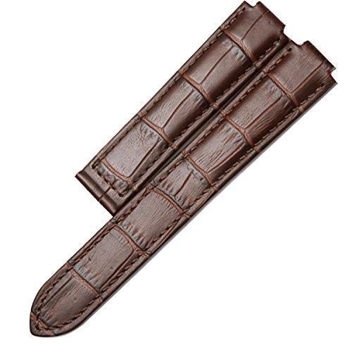 18mm x 11mm Braun Leder Uhrenarmband Ersatz