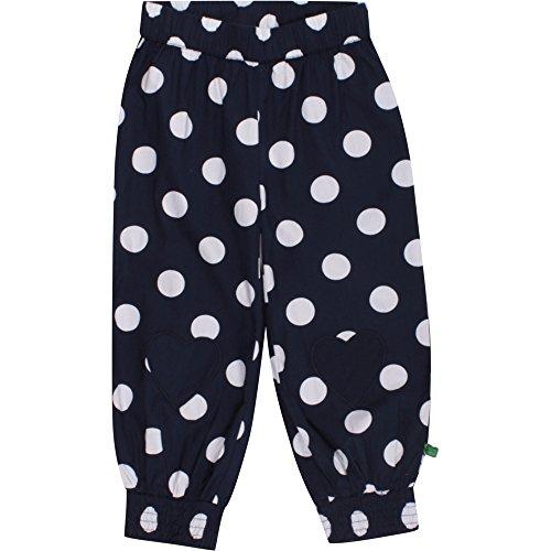 Fred'S World By Green Cotton Spot Poplin Pants Baby Pantalon, Bleu (Navy 019392001), 56 cm Bébé Fille