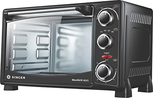 Singer Maxigrill 1600 Oven Toaster Grill 1400 Watts 16 Litres