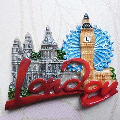 3D, Polyresin, UK London Bigben, Tourist Souvenir, Kunstharz Kühlschrank Magnet Creative Home Kitchen Dekoration Werbe Geschenk (Werbe-magnete)