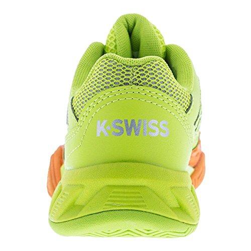 K-Swiss Kids Unisex Bigshot Light 3 Orange Popsicle/Lime Punch
