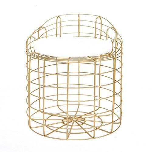 SED Stuhl - Metal Chair Make-up Hocker Restaurant Wohnzimmer Stuhl Bar Cafe Blumenladen Hocker...