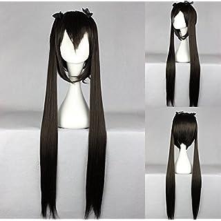 Ladieshair Cosplay Perücke K-ON - Azusa Nakano Schwarz 100cm