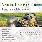 Campra : Requiem - Miserere [Import USA]