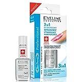 Eveline Cosmetics Nail Therapie Politur Trockner Top Coat 3in1Dry Hart und glänzende Nägel 12m