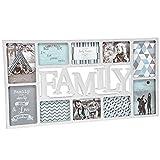 XXL Bilderrahmen Collage mit Schriftzug Family