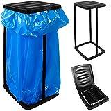 Deuba® Müllsackständer für Müllsäcke bis max. 60 LITER 3-fach höhenverstellbar - Müllsackhalter Abfallbehälter Müllbeutelhalter