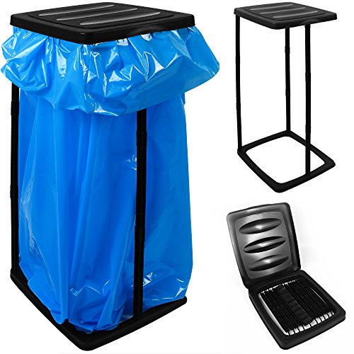 *Müllsackständer für Müllsäcke bis max. 60 LITER 3-fach höhenverstellbar – Müllsackhalter Abfallbehälter Müllbeutelhalter*