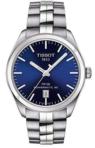 Mens Tissot PR100 Powematic 80 Automatic Watch T1014071104100