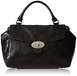 Baggit L Pose Moroco Women's Handbag (Black)