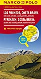 MARCO POLO Karte Spanien Pyrenäen, Costa Brava 1:300 000: Baskenland, Navarra, Aragon, Andorra, Katalonien: Wegenkaart 1:300 000 (MARCO POLO Karten 1:300.000)