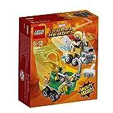 LEGO UK - 76091 Marvel Super Heroes Mighty Micros: Thor versus Loki Fun Superhero Toy for Kids