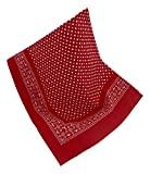 Nickituch Klassiker mit zeitlosem Design, Farbe: Rot