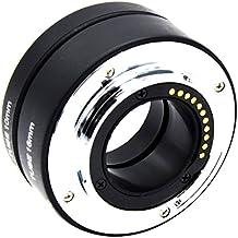 MagiDeal Anillo de Tubo de Extensión Automática M4 / 3 Macro para Olympus Panasonic DRLS Cámara Accesorio para Fotografia