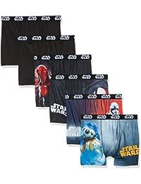 Star Wars Herren Panties Boxer, 6er Pack