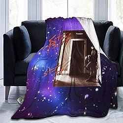 lanjiangbaih Sternenhimmel Steve Perry Street Talk Decke Super weiche Couch Bett werfen das perfekte fürsorgliche Geschenk für Kinder Erwachsene 80 x 60 Zoll