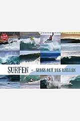 Surfen - Spaß auf den Wellen (Wandkalender 2019 DIN A3 quer): Surf-Spaß für zuhause (Geburtstagskalender, 14 Seiten ) (CALVENDO Sport) Kalender