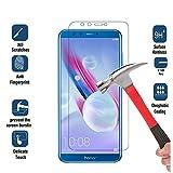Huawei honneur 9Lite protection d'écran en verre trempé Installation facile sans bulles HD ultra clair avec 9H Dureté incassable et d'empreintes digitales anti Revêtement de traitement oléophobique (Honor 9Lite, protection d'écran)