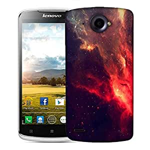 Snoogg skyview clouds Designer Protective Back Case Cover For Lenovo S920