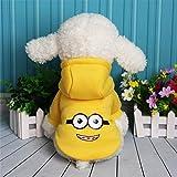 BKPH Hundekleidung Herbst- und Winterkleidung Kapuzenpulli Bichon Teddy Bomei Kleine Hunde Welpen Haustierkleidung Hündchen Katzen, 003, XL