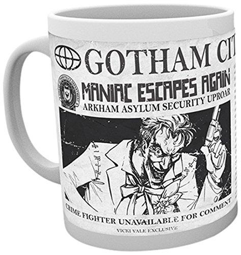 GB Eye, DC Comics, Joker Escapes, Batman Comics, Taza