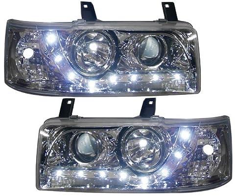 Ultra VW58L27 Chrome Drl Style Headlights