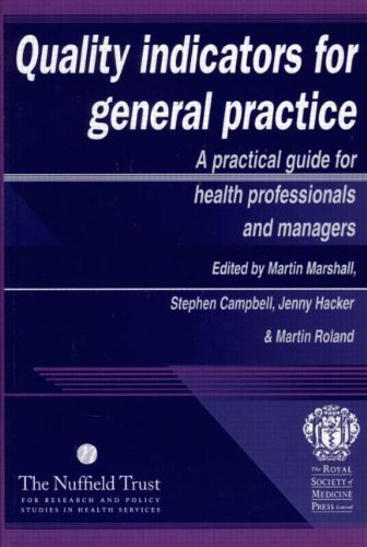 Quality Indicators for General Practice by Jenny Hacker (2001-10-18) par Jenny Hacker