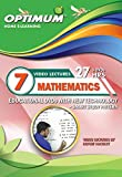 #8: Optimum Educator Educational DVD's Std 7 MH Board Mathematics -Digital Guide Perfect Gift for School Students – Easy Video Learning- Fun with Maths