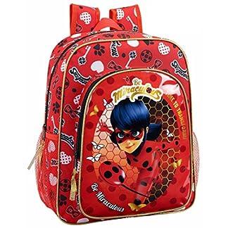 "51hGYpfRtaL. SS324  - Safta Mochila Escolar Junior Ladybug ""Sparkle"" Oficial 320x120x380mm"