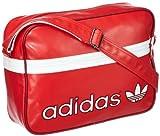 adidas Umhängetasche Adicolor Airline, Rot/Weiß, 38 x 28 x 12 cm, 17.4 Liter, Z37352
