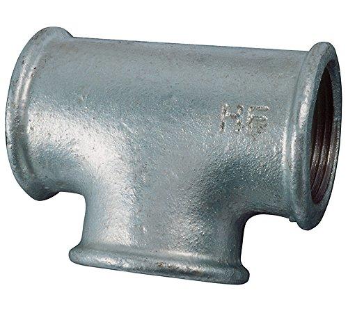 Cornat schwengel Pompes Accessoires Té, 1 1/4 , malléable, galvanisé, multicolore