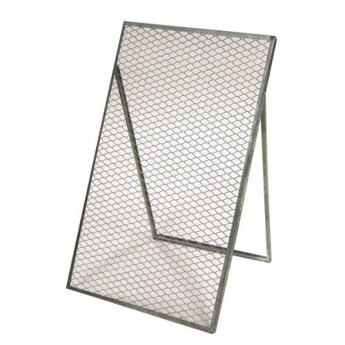 Preisvergleich Produktbild Xclou 360086 Durchwurfgitter feuerverzinkt 120 x 80 cm