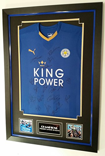 Rare-Leicester-City-Signed-SHIRT-CHAMPIONS-AFTAL-DEALER