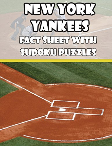 New York Yankees Fact Sheets with Sudoku Puzzles por Mega Media Depot