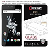 Chevron 0.3mm Pro+ Tempered Glass Screen Protector For OnePlus X best price on Amazon @ Rs. 140