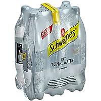 Schweppes Dry Tonic Water Einweg (6 x 1,25 l)