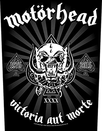 motorhead-back-patch-espalda-parche-15-victoria-aut-morte-negro-negro-talla-unica